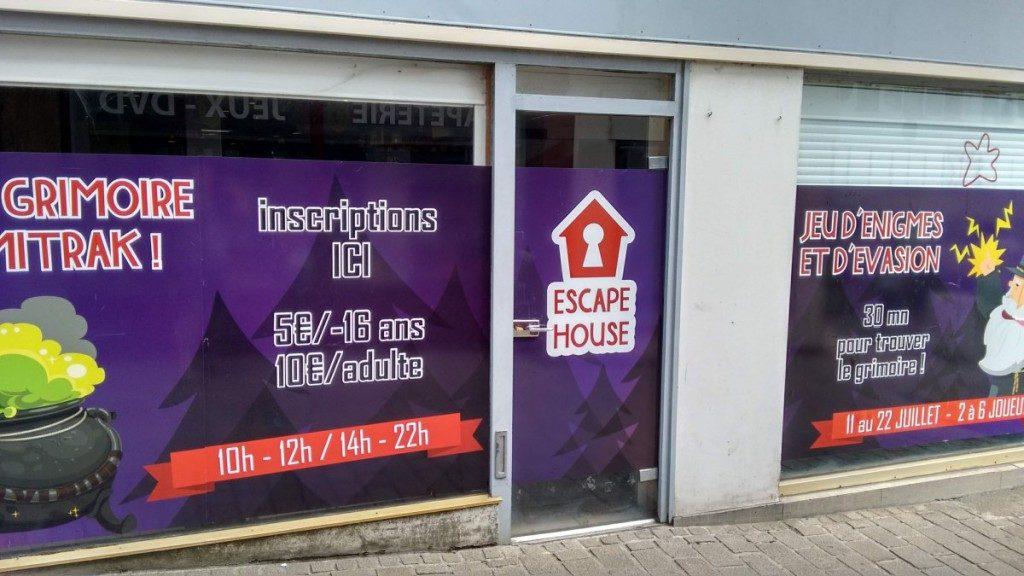 Boutique éphémère transformée en escape game pour le FLIP - Festival des Jeux de Parthenay