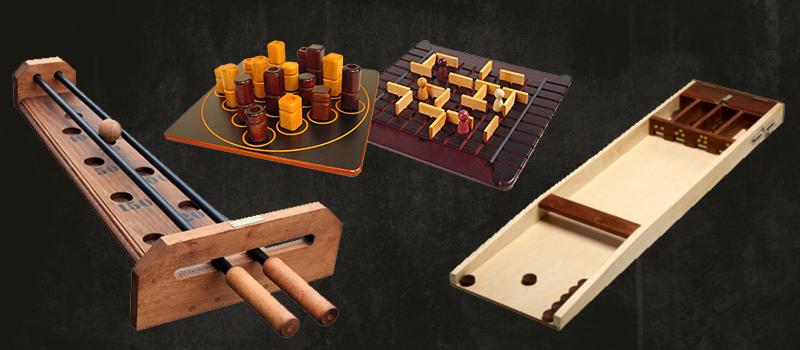 Grands Jeux en bois traditionnels : Animation pour toute la famille