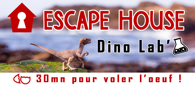 Scénario Escape Game : Dino Lab'