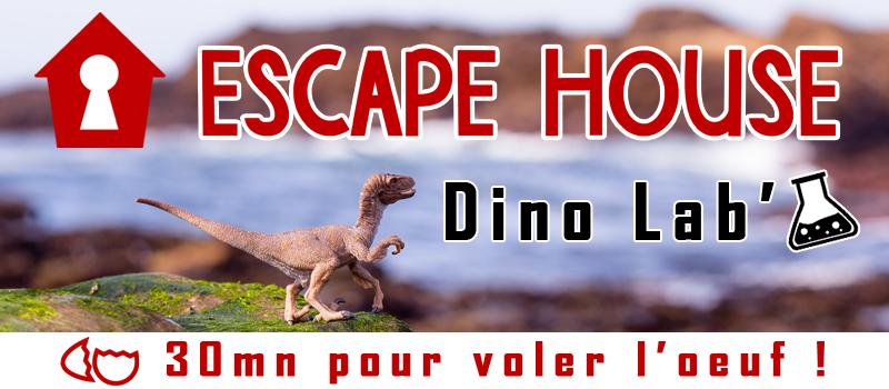 Scénario Escape Game : Dino Lab'