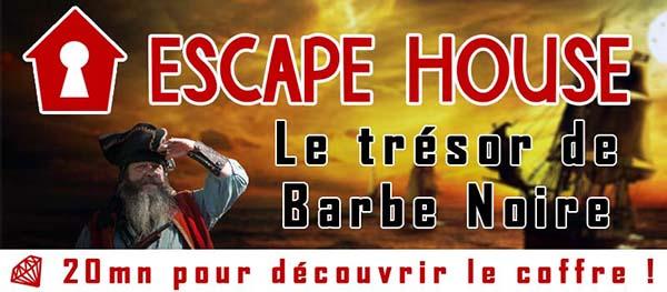 Scénario Escape Game : Le Trésor de Barbe Noire